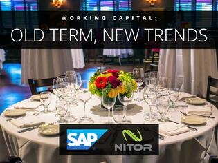 Working Capital Old Term New Trends Nitor SAP Ariba Lunch Event