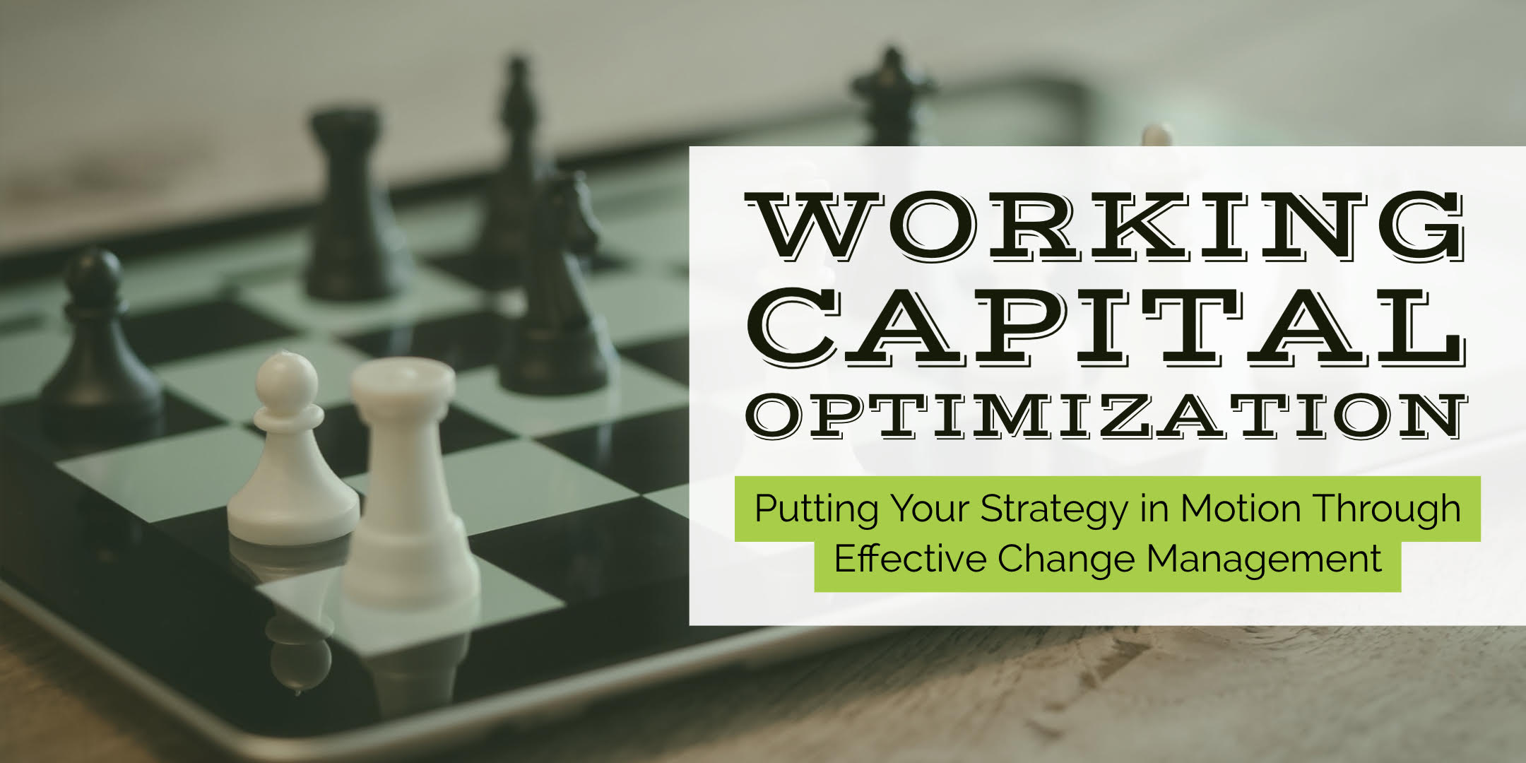 working capital consulting